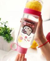 830ml High Quality Lemon Bottle Cup Korea ning meng bottle J...