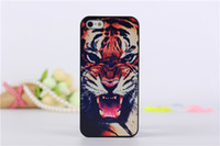 For Apple iPhone 3d iphone 4 case - For iPhone G S Animal Series tiger leopard wolf Hound Case D stereo PC plastics Hard case For iPhone G S