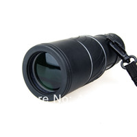 Yes OEM 16X52 Wholesale-Free shipping!Dual Focus 16X52 Monocular Telescope FMC Green Optic Lens Sports Hunting Camping Spotting Scope
