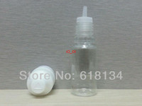Wholesale ml PET Bottles Child proof cap And Long Thin Tip with tamper evident triangle cap triangle of braille sign