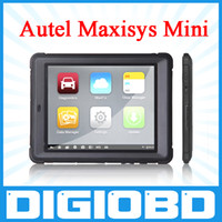 automotive display - Original Autel MaxiSys Mini MS905 Automotive Diagnostic and Analysis System with LED Touch Display Autel MaxiSys Pro