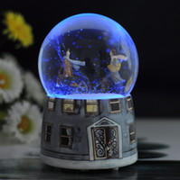 Birthday Cards Sample Retail Porcelain Jimmy Crystal Ball Music Box creative gifts ceramic crafts resin crafts creative home