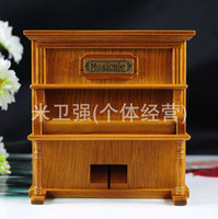 Birthday Cards Sample Retail Birch Wooden upright piano music box piano music box birthday gift wooden gifts Christmas gifts