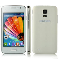 Wholesale JIAKE G900W Mini Android G Smartphone inch WVGA Screen SC7715 GHz Dual Cameras Dual Sim Card Cell Phone Mini S5