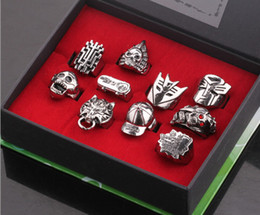 Wholesale 2014 New Fashion High Quality Mix Styles Anime Final Fantasy Skull Ring