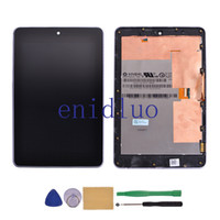 Wholesale OEM New LCD Display Touch Screen Digitizer Assembly with Frame Replacement For ASUS Google Nexus Tablet with Tools Wifi