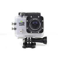 Wholesale SJ6000 Portable Mini Camera Sports Action Camera Full HD P H Helmet Diving M Underwater Waterproof DV Gopro Camera Newest