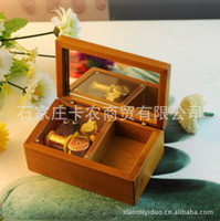 Birthday Cards Sample Retail Logs Genuine factory direct rhyme or music box music box wood jewelry boxes to send girls birthday gift