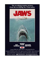 """Peel & Stick PVC Animal Wall Sticker of Jaws Decorative """"20x30"""" inch Attractive and Durable Poster for Home Decorate Free Shipping"""