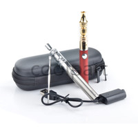 Red Metal  Evod battery Gax 3 in 1 dry herb herbal wax e-liquid vaporizer pen tank electronic cigarette kit Ago G5 and Ego-d e cigarettes vapor mt3