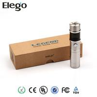 Adjustable   Sigelei Legend v2 Eletromic Cigarette Mod Sigelei Variablev Voltage Wattage Mod fit 18650 18350 Battery With OLED Screen Display