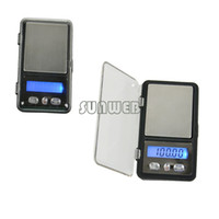 <50g Pocket Scale New Wholesale 100g x 0.01g Digital Pocket Scale Balance Weight Jewelry Scales 0.01 gram Cigarette Case Free Shipping B16 15297