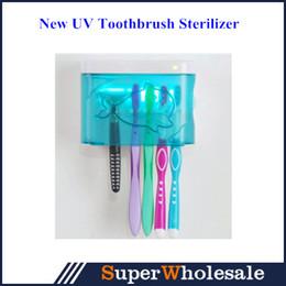 Wholesale New UV Ultraviolet Family Toothbrush Sanitizer Sterilizer Cleaner Storage Holder EU plug