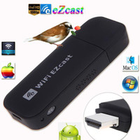 Wholesale HD P EZcast WiFi Display Dongle Receiver Adapter Miracast DLNA AirPlay Support iOS Mac OS Android Windows System