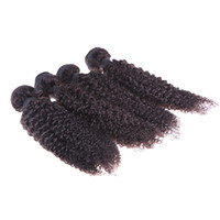 5A Malaysian Hair Curly Under $30 5A malaysian Virgin Hair Afro Kinky curly Hair Extensions Mixed Length 4pcs Lot Cheap Queen hair Curly Wefts free shipping