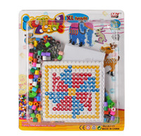 Wholesale Hot Sale Children Hama Beads DIY Perler Beads Kids Learning Education Toys Childs Intelligence Toys Puzzle Beads Magnetic Beads M1115