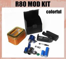 Wholesale Best R80 E Cigarette New Vapor King EGO Protank Electronic Cigarette E cig King Mod R80 Battery TZ079
