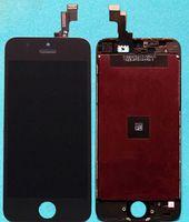 Promoción Frente de la Asamblea de Pantalla LCD Táctil de la Pantalla Digitazer para el iPhone 5S Pantalla Frontal ensamble del Panel Táctil Digitalizador de DHL Gratis
