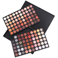 Wholesale 120 Colors Professional Eyeshadow Makeup Cosmetic Palette of shadow to the eyes Warm Color Series