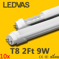 Wholesale LEDVAS Led T8 Tube W Led Light Cree SMD LM Light Lamp Bulb Ft mm m AC V Lights Led Lighting Year Warranty