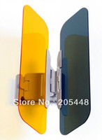 Wholesale Window Roll Blinds Sunshade Visor Mirror Rays Filter Car Anti glare glasses clip goggles Prevent strong light irradiation