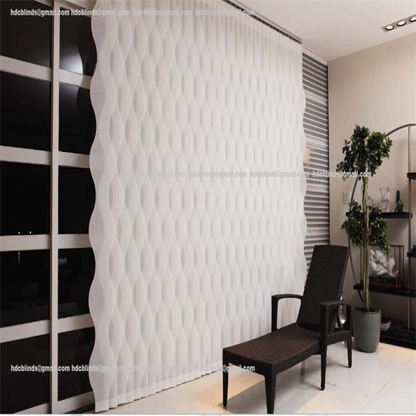 Hot Sell Window Vertical Blinds Light Filtering Sheers Fabric