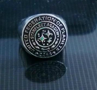 Wholesale New Fashion Hot SELL Star Trek Starfleet Academy Class Ring Replica Movie Jewelry