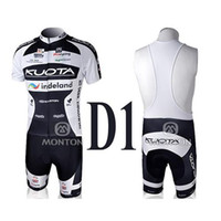 Wholesale KUOTA Cycling Jersey Sets Kuota indeland Pro Cycling Womens Short Sleeve Cycling Jersey and Bib Shorts Polyester Cycling Clothes for Sale