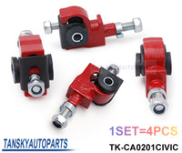 TK-CA0201CIVIC accord control arm - Tansky car styling RED Front Adjustable Camber Suspension Kit for Civic CRX Accord Ingetra CL TL TK CA0201CIVIC