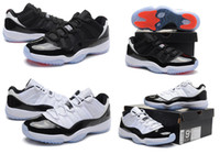 Wholesale Brand Retro Concord Low Infrared Low Mens Basketball Shoes