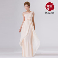 Wholesale 2014 Mission bridesmaid dress bridesmaid dress long section of champagne to toast the bride dress clothes wedding dress yarn dress sisters