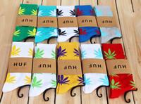Wholesale 2014 Hot Christmas Gift HUF Plantlife Crew Socks pairs