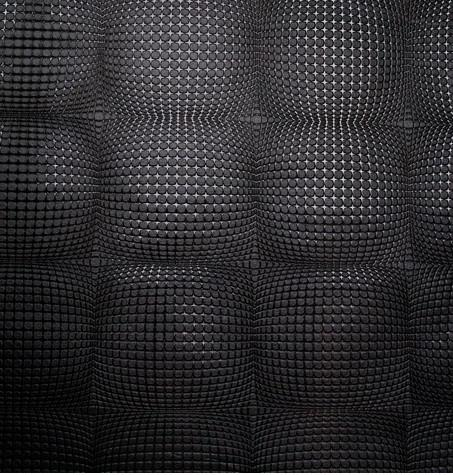 Embossed Black Wallpaper Black Embossed Texture