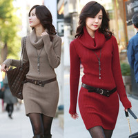 Fall 2014 Sweater Dresses autumn fall winter new