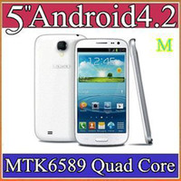 Wholesale 100pcs Original Star S9500 MTK6589 Quad Core CPU GB RAM with IPS Touch Screen Android Smart Phone G GSM GPS and Dual Camera S89