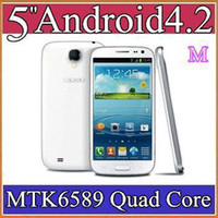 10pcs Original Star S9500 MTK6589 Quad Core CPU 1 Go de RAM avec 5 #039; #039 ; IPS tactile écran 4.2 Android téléphone intelligent 3G GSM GPS et appareil-photo duel S89-1