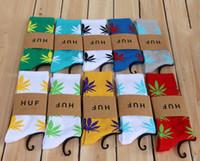 Women Over Knee  2014 HUF socks Marijuana street corner sock DGK High quality Men's Women's socks 48pcs=24pairs