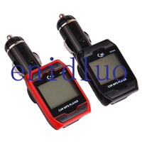 Wholesale 1 quot LCD Screen Bluetooth Car Kit MP3 Player FM Radio Transmitter Modulator Remote Control Support USB TF SD