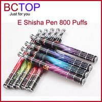 Shisha pen DHL/UPS/EMS/China Post Mix Color Free Shipping Disposable Electronic Cigarettes Ehookah Portable E Shisha Pen 800 puffs Metal Tip E-hookah E-shisha E Cig E Cigarette