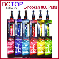 Shisha pen DHL/UPS/EMS/China Post Mix Color Hot Sale! Disposable Electronic Cigarette Ehookah Portable E Shisha Pen 800 puffs Metal Tip E-hookah E-shisha E Cig E Cigarette