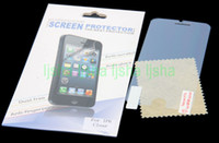 Transparent Clear LCD Screen Protector Guard Film with Retai...