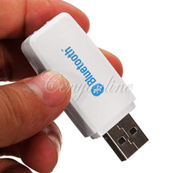 product new white mini v usb bluetooth  mm wireless