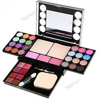 Wholesale Makeup Compact Kit Colors Eye Shadow Colors Blusher Colors Lip Gloss Color Dry Powder Wet Powder