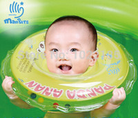 Wholesale 1pcs Cartoon Adjustable New Baby Aid tube Infant Swimming Neck Float Ring Safety New Hot Selling