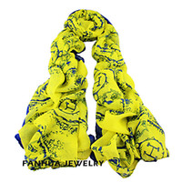 Wholesale New Arrival Fashion Design Voile Colorful Printed Long Scarves For Women