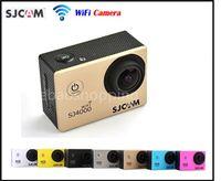Wholesale Original SJCAM SJ4000 WIFI Camera Action Camera Cam P Full HD Helmet Underwater Waterproof Video Sport Camera Sport DV