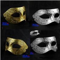 Wholesale 20pcs Half Faces Venetian Mens Mask Mardi Gras Masquerade Halloween Costume Party MASKS M05