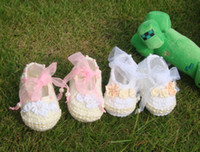 Girl Summer Fur 6%off,Crochet newborn baby shoes, pearl baptism girl Mary Janes crochet reborn doll shoes !NEW ARRIVAL , 100% Cotton,BABY shoes,3pairs 6pcs