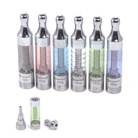 Replaceable 2.4ml Glass Kanger T3D BDC Clearomizer 2.2ml Dual Coil Bottom Fill clearomizer Tank ecigarettes vapor ego atomizer for e cigarette mod evod ego battery