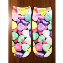 Wholesale 2014 Spring Summer Fashion pairs Double HARAJUKU Cotton Cat D Socks Animal Print Socks Cartoon Anklet Short Socks Women